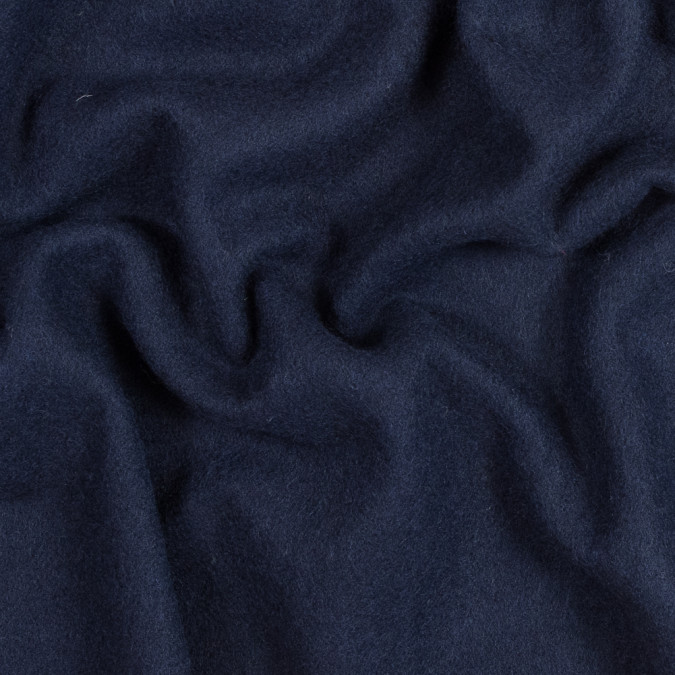 navy blue double faced wool coating 317209 11