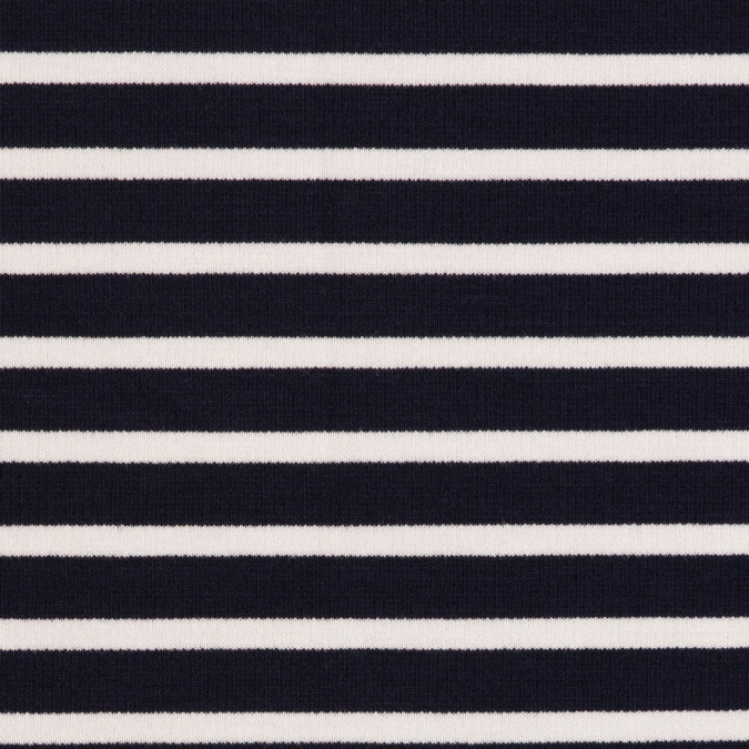 navy ecru saint james striped ponte knit fv21186 11