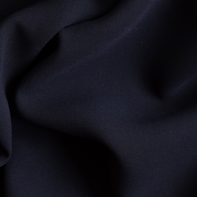 navy polyester crepe 111234 11