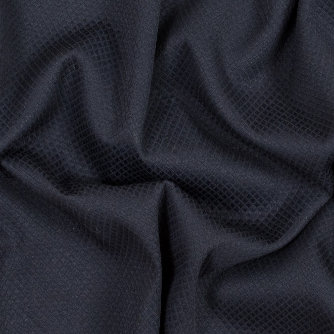 navy quilted cotton woven 317412 11