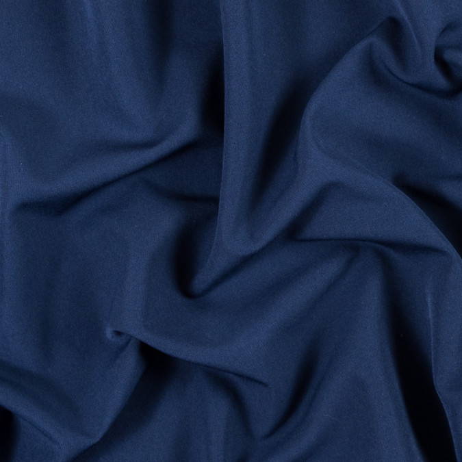 navy stretch polyester double cloth 315134 11