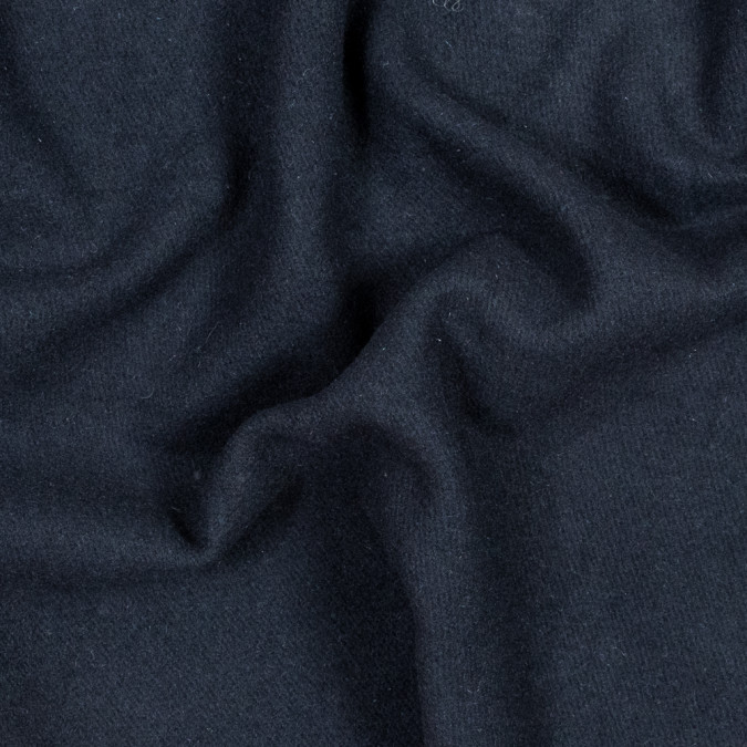 navy thick brushed wool twill 317892 11