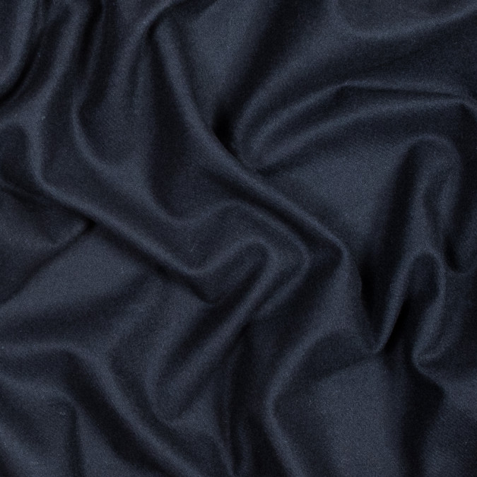 navy thin brushed wool twill 317891 11