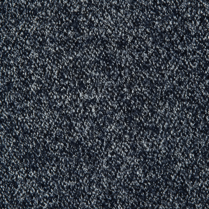 navy white blended wool coating 310976 11