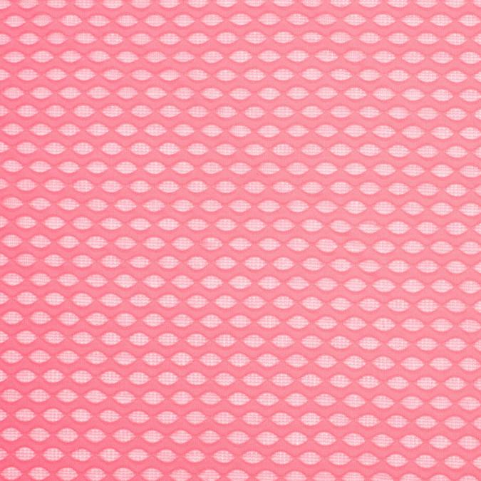 neon pink knit honeycomb mesh 306982 11