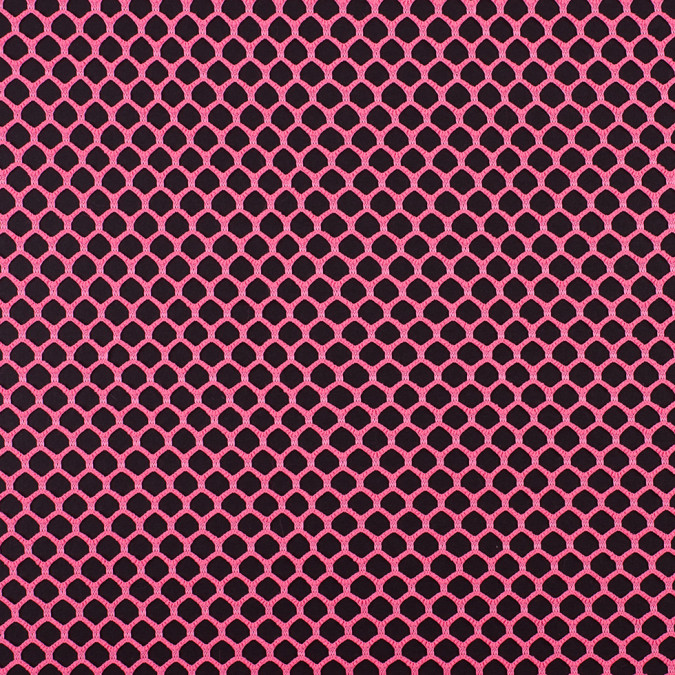 neon pink polyester netting 308961 11