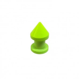 neon spike rivet yellow