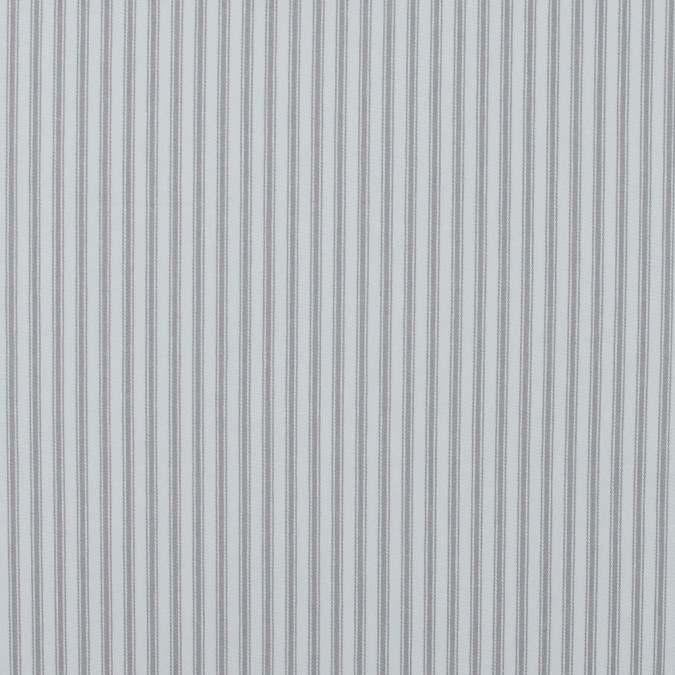 nickle and white ticking striped cotton twill 118038 11