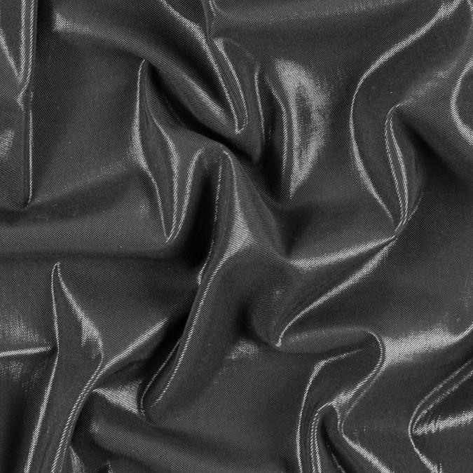 nicole miller metallic black stretch rayon twill 312169 11