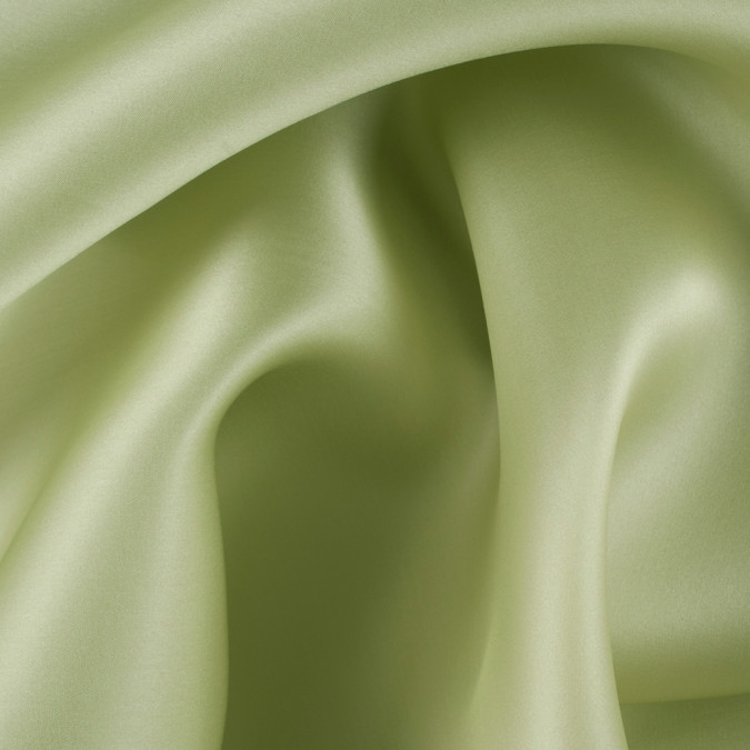 nile green silk satin face organza pv4000 137 11