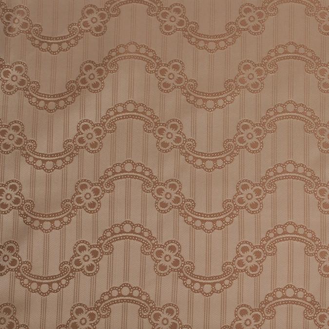 nougat hazel floral striped acetate lining 306145 11
