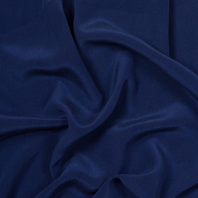 nyc designer true navy washed silk 304625 11