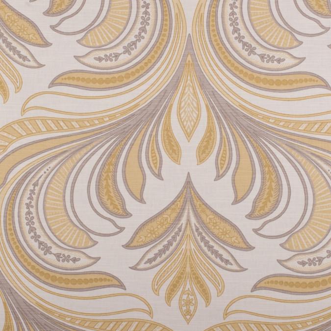 off white antique yellow stone paisley canvas hc18166 11
