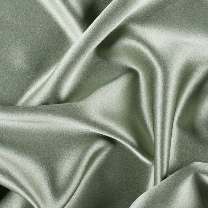 oil green silk crepe back satin pv8000 130 11