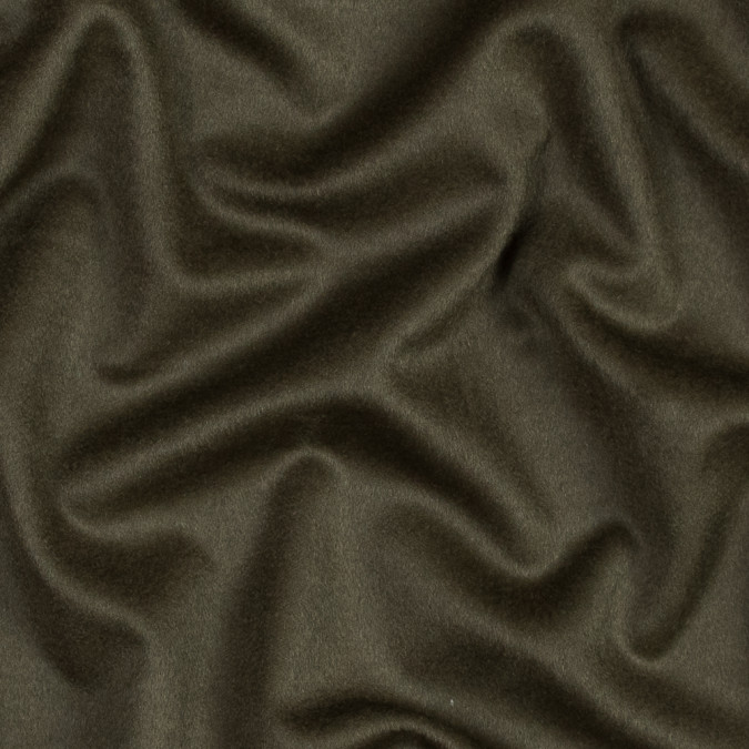 olive drab felted wool and cashmere coating 317533 11