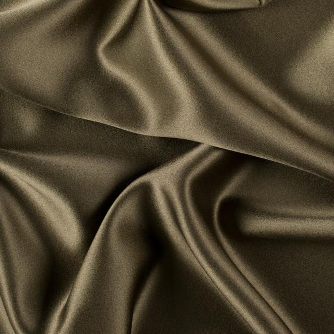 olive green silk crepe back satin pv8000 142 11