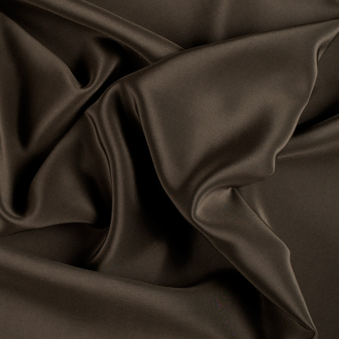 olive green silk crepe de chine pv1200 142 11