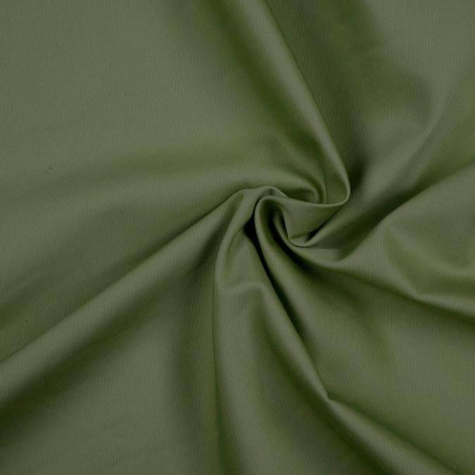 olive solid organic cotton twill fc8705 11