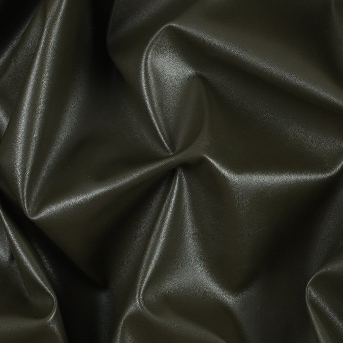 olive stretch faux leather vinyl 311407 11