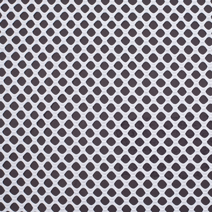 optic white fishnet crochet 306991 11
