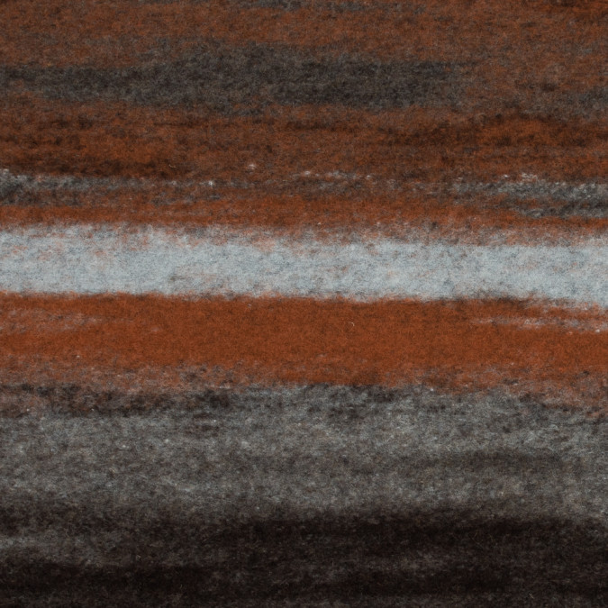orange and chestnut rustic knit wool panel 317640 11