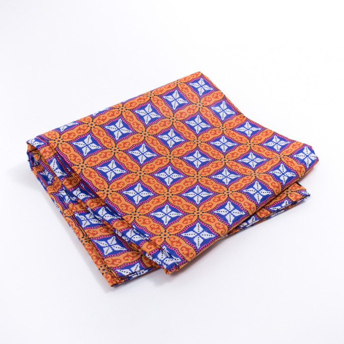 orange and purple geometric waxed african print 317751 11