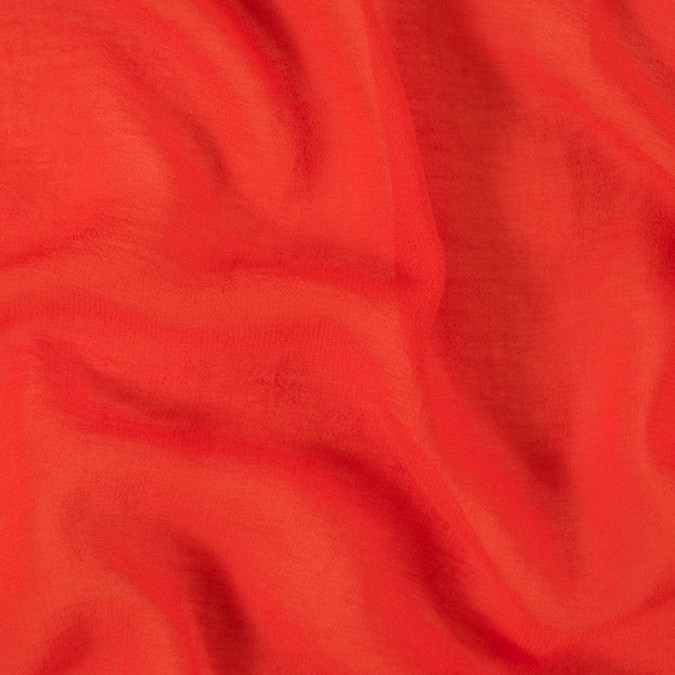 orange stretch polyester dobby chiffon 309656 11