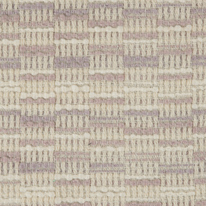 orchid lilac ivory chuncky wool woven 309832 11