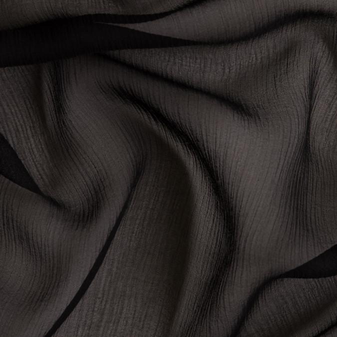 oscar de la renta black crinkled chiffon fs23689 11