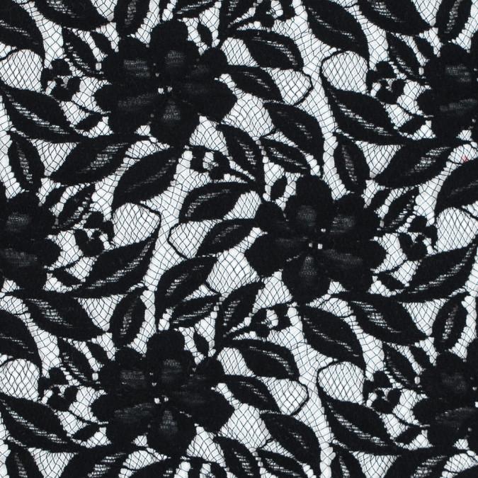 oscar de la renta black floral lace 313670 11
