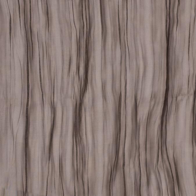 oscar de la renta espresso crinkled silk organza 313302 11