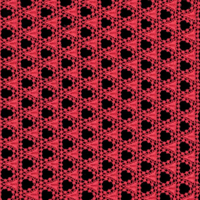 oscar de la renta italian paradise pink geometric guipure lace 313676 11