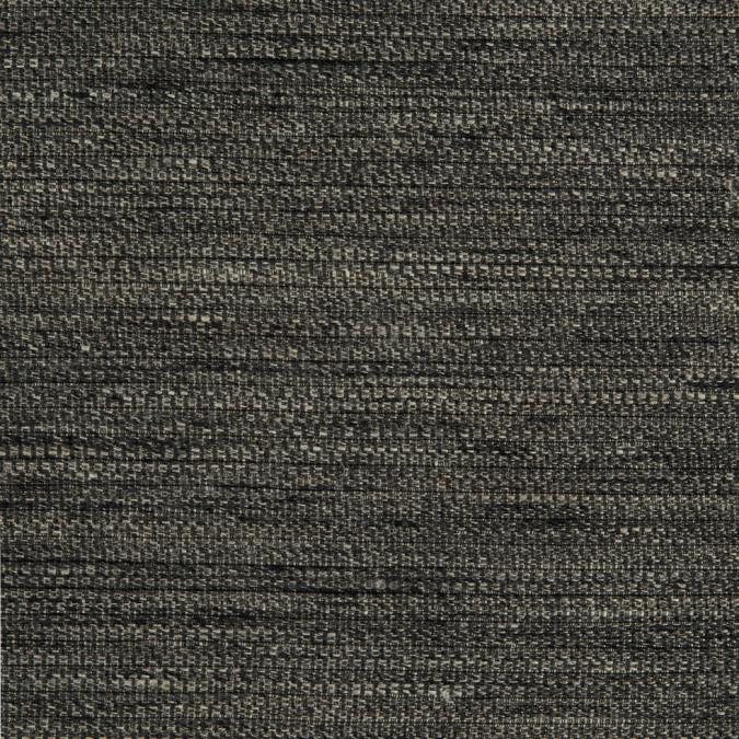oscar de la renta ivory thyme black linen silk woven 310267 11
