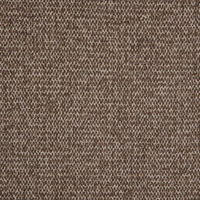 oscar de la renta sand shell coffee liqueur wool cashmere woven 310273 11