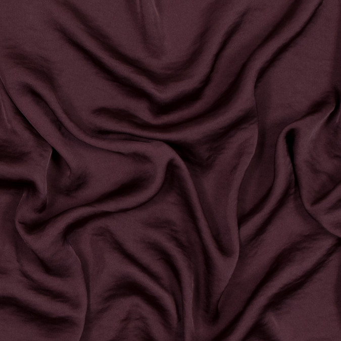oxblood satin faced polyester georgette 318466 11