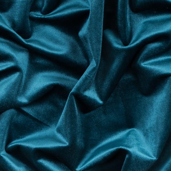 pacific blue polyester velvet 313326 11