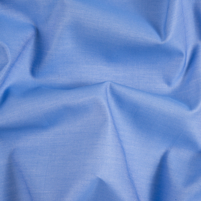 palace blue twill mercerized cotton shirting 310197 11