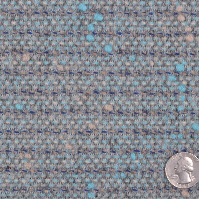 pale aqua gray solid tweed fw11985 11