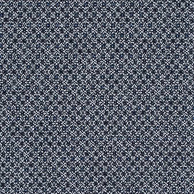 paloma geometric stretch cotton woven with true blue accents 314145 11