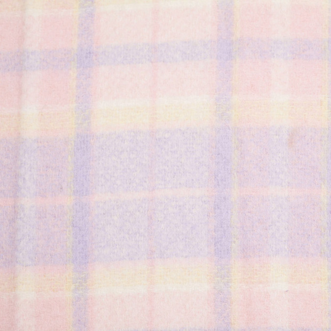 pastel plaid wool fleece 305935 11