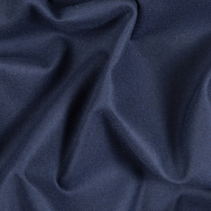 patroit blue cotton tencel double sided brushed flannel 309457 11