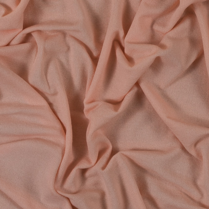 peach blended tissue weight stretch knit 315835 11