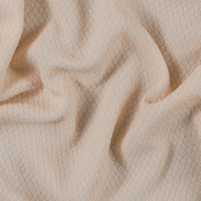 peach puree puckered polyester crepe 313416 11