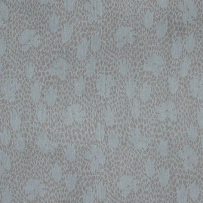 peach spotted floral silk chiffon 315757 11