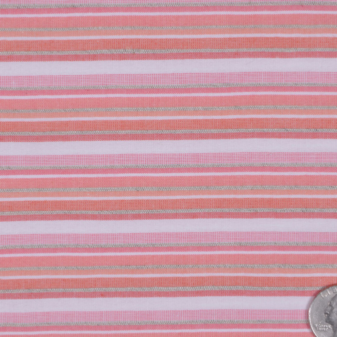 peach striped cotton woven fc13116 11