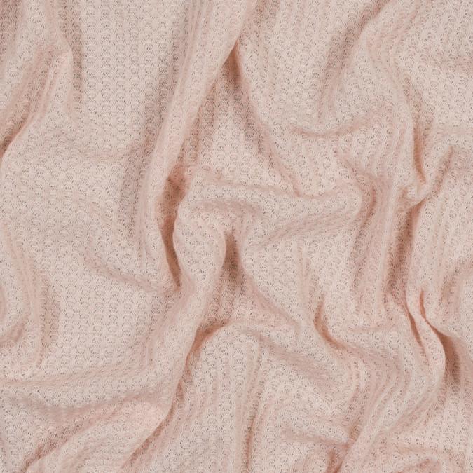 peach waffle sweater knit 316471 11