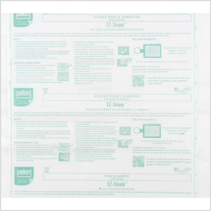 pellon one sided fusible web w paper backing 104988 11