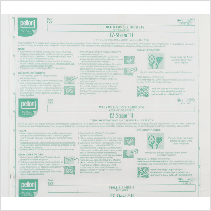 pellon two sided fusible web w paper backing 104989 11