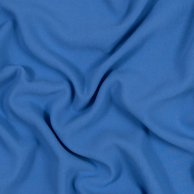 persian jewel blue crepe polyester double cloth 318503 11
