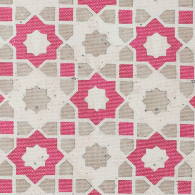 pink beige geometric floral outdoor canvas 115767 11